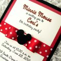 Mickey Mouse Baptism Invitations