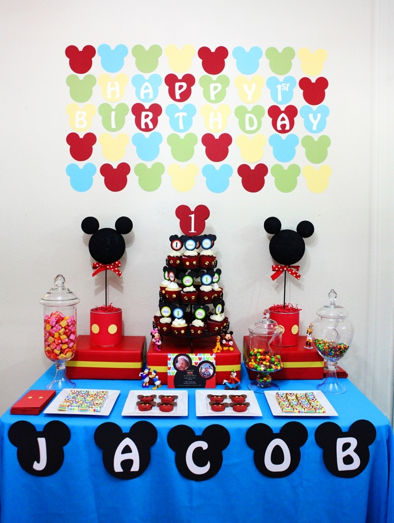 Unique Mickey Mouse Birthday Party Ideas