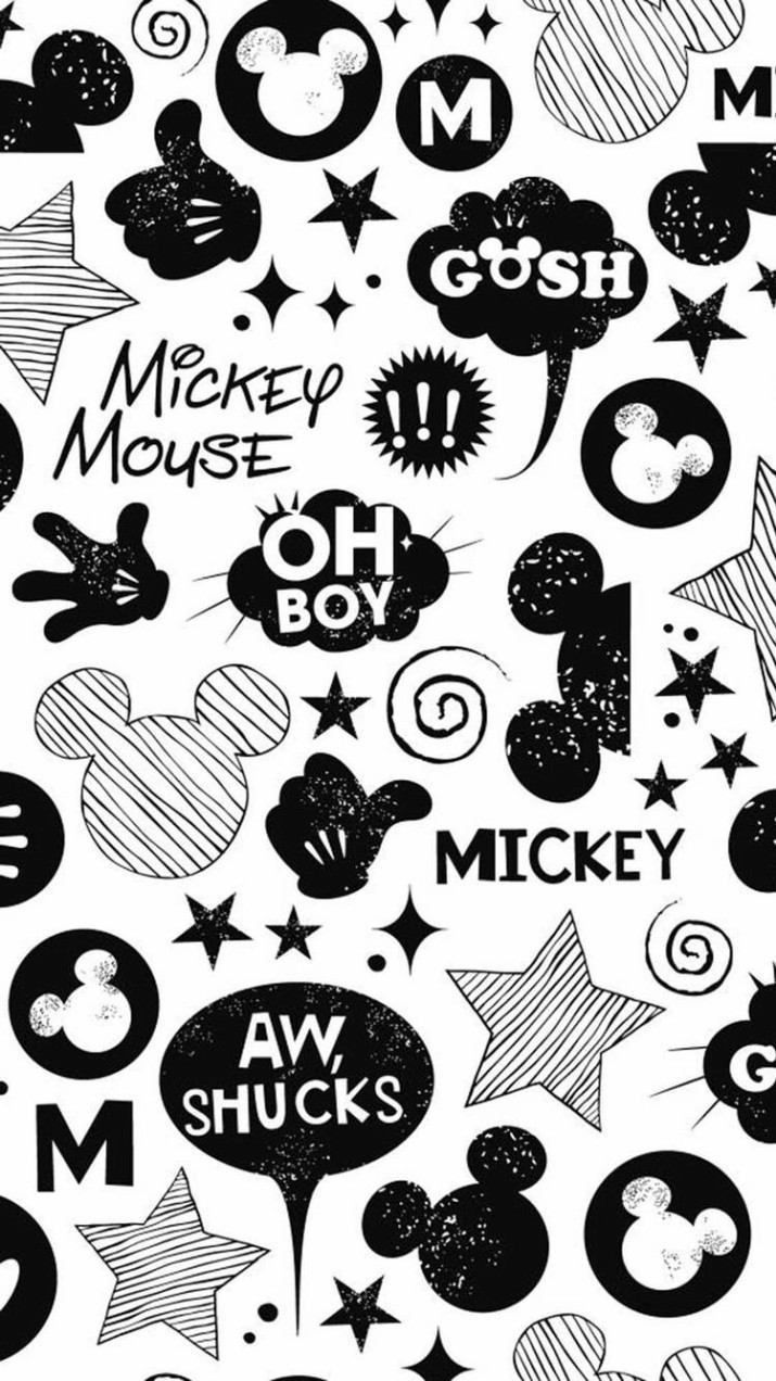 1000+ Ideas About Mickey Mouse Wallpaper On Pinterest