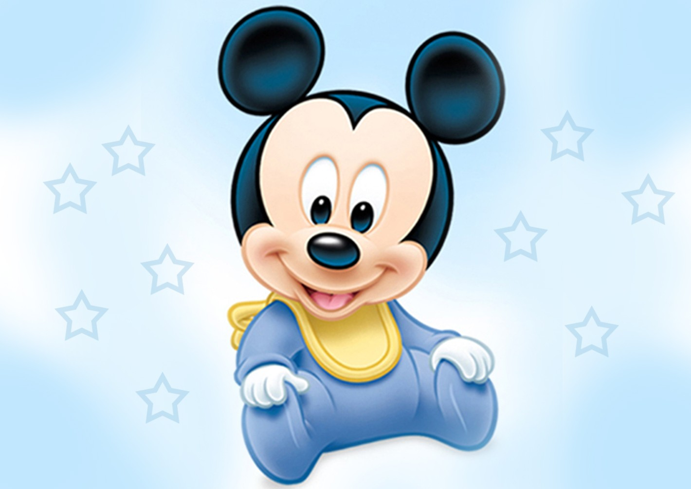Baby Mickey Mouse Wallpaper - Mickey Mouse Invitations Templates