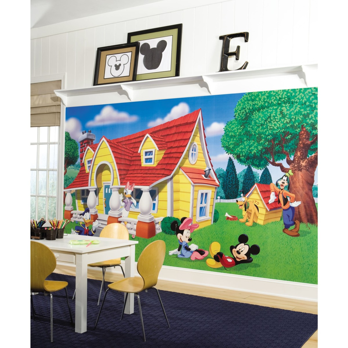 15 Cute Mickey Mouse Youngsters Room Designs And Furnishings Kids