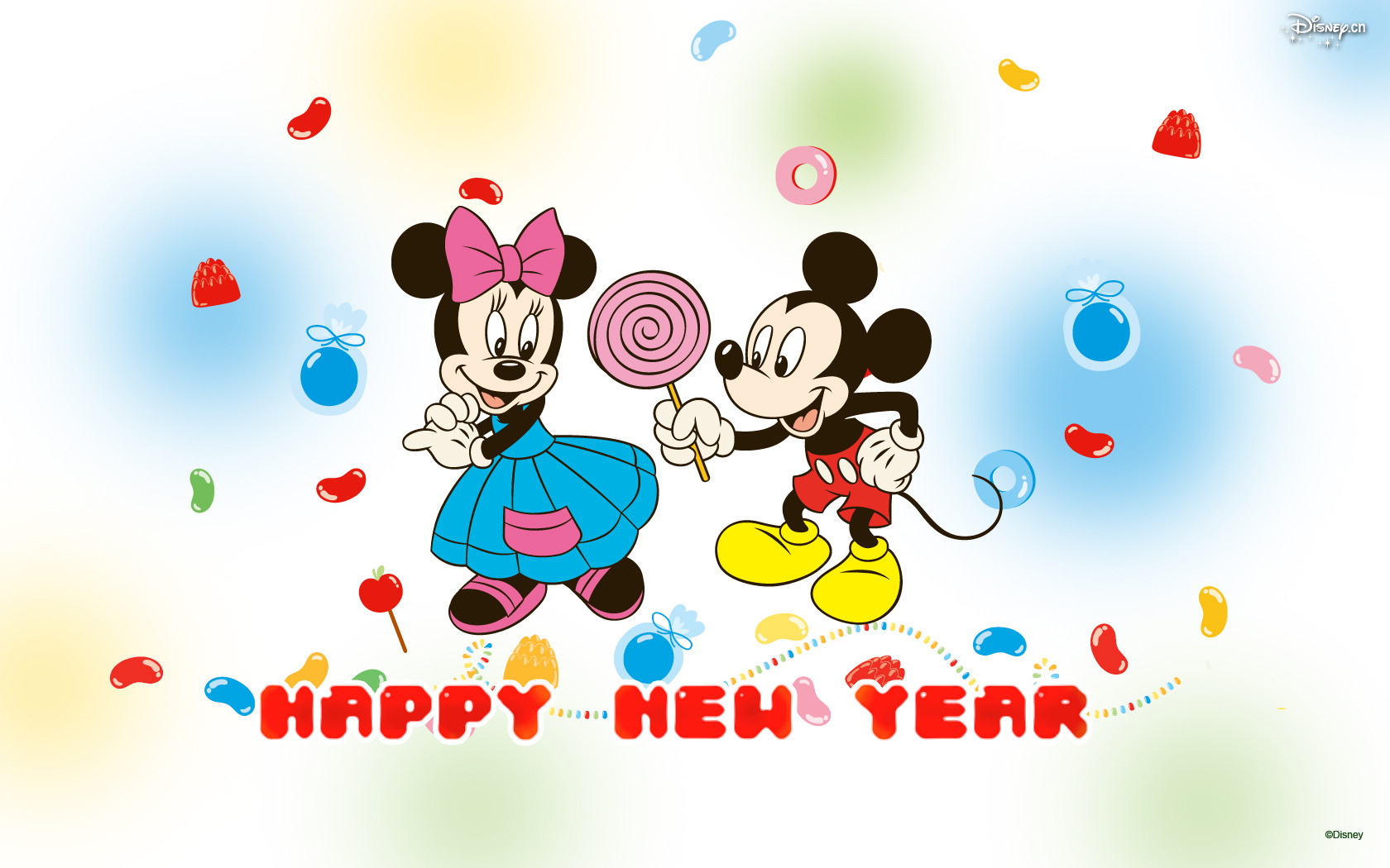 1 Mickey Mouse New Year Hd Wallpapers