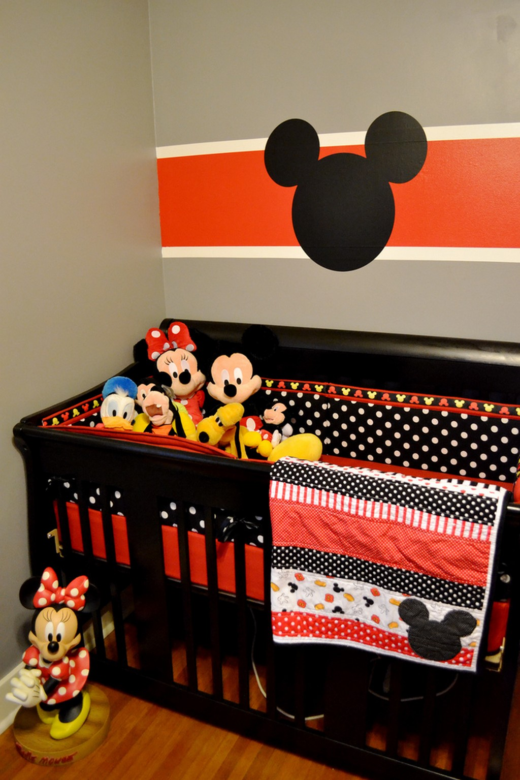 Amazing Mickey Mouse Crib Bedding Ebay For Mickey Mouse Bedroom