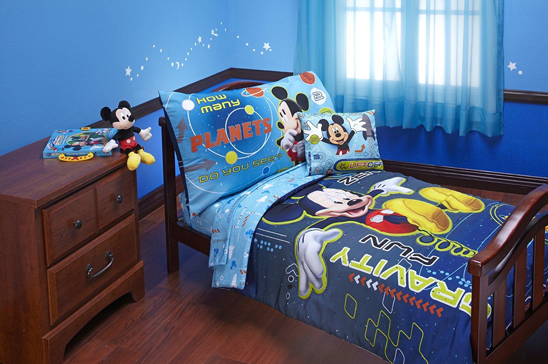 Amazon Com   Disney Mickey Mouse Space Adventures 4 Piece Toddler
