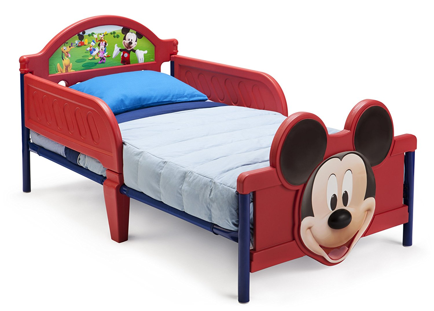 Amazon Com  Delta Children's Products Mickey Mouse 3d Toddler Bed