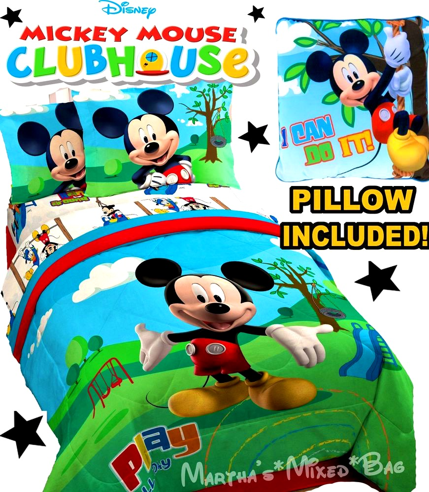 Bathroom   Delightful Mickey Mouse Crib Bedding Boys Twin