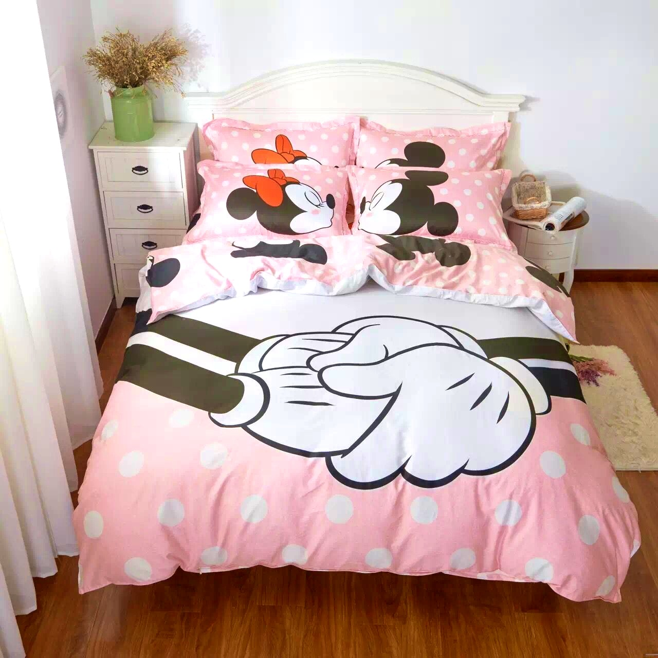 Bedroom   Lovely Buy Mickey Mouse Kids Print Bedding Set And
