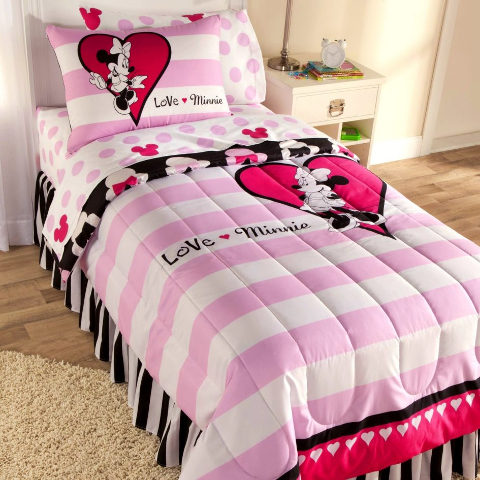 Bedroom  Mickey And Minnie Mouse Bedding  Inspiring Nursery