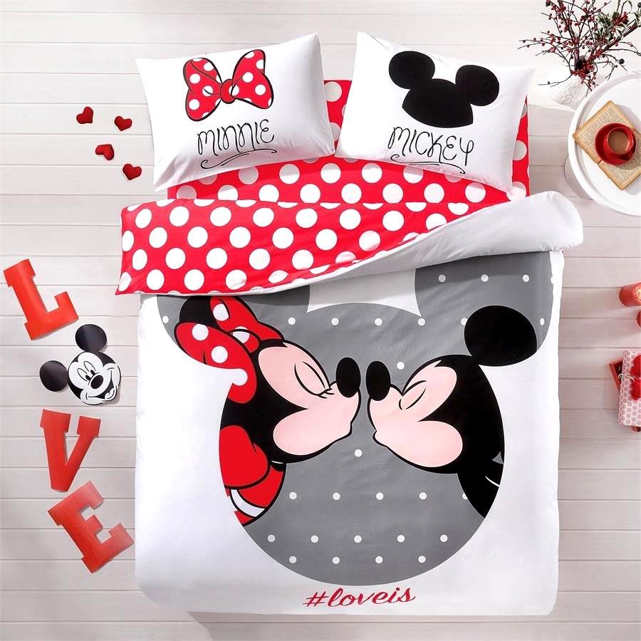 Bedroom  Mickey Minnie Bedding  Magnificent Nice Ideas Minnie