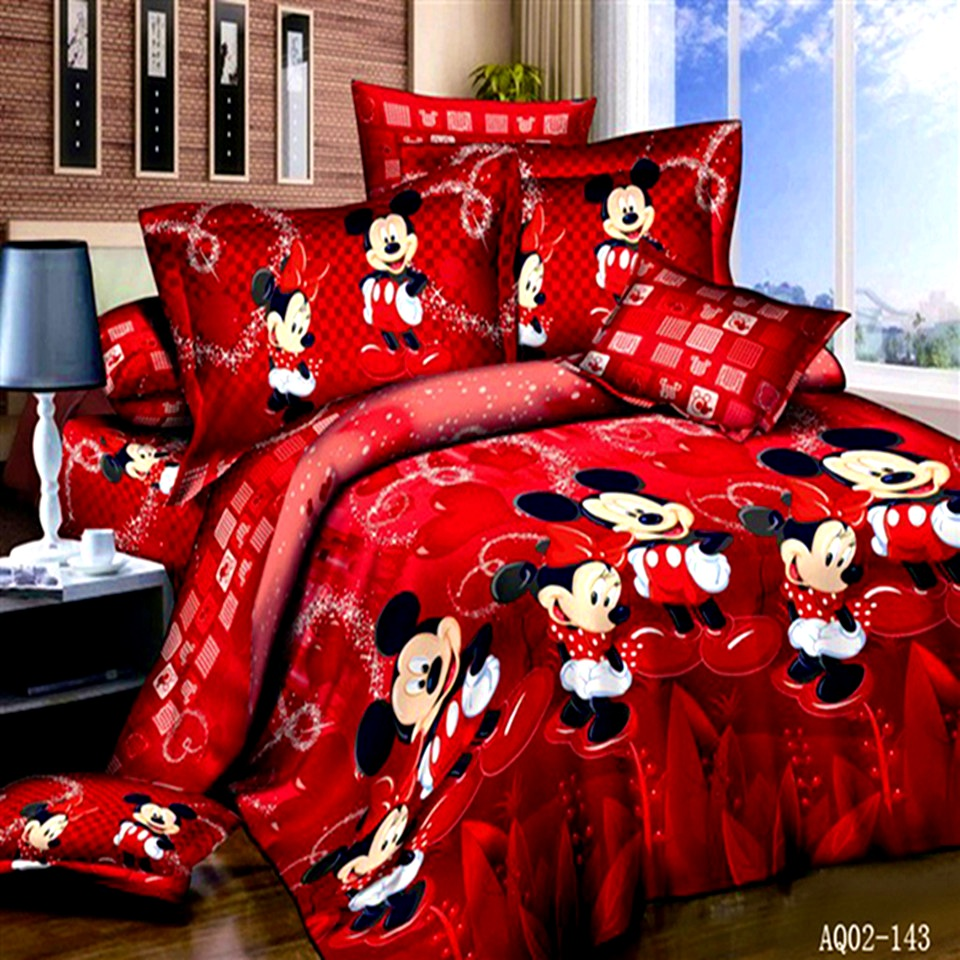 Bedroom  Mickey Mouse Bedding For Adults  Tasty Popular Mickey