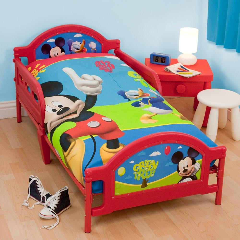 Character Junior Toddler Bed & Mattress New All Designs