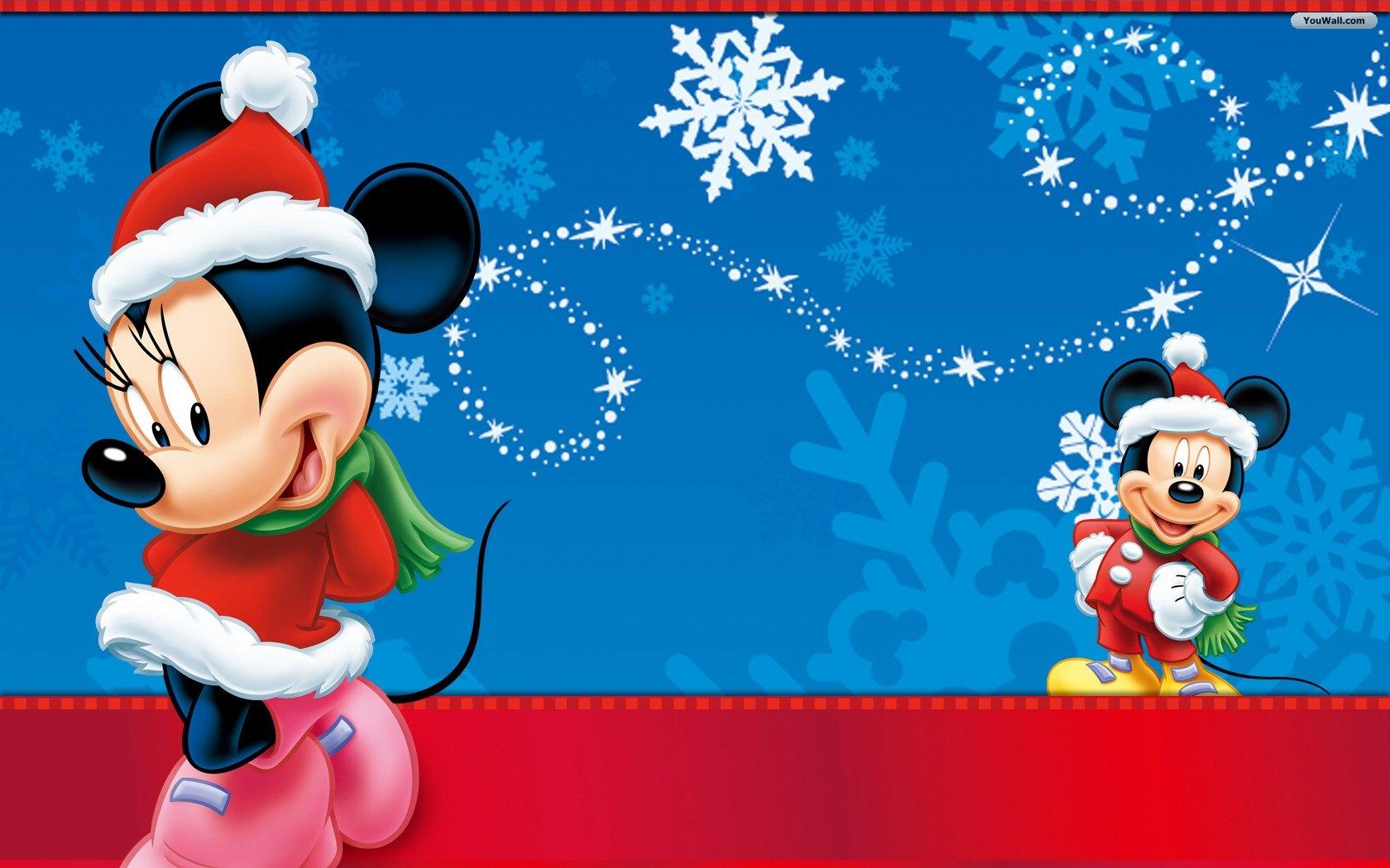 Christmas Mickey Mouse Wallpaper