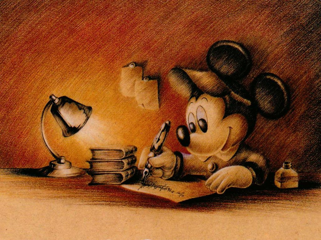 Classic Mickey Mouse Wallpaper