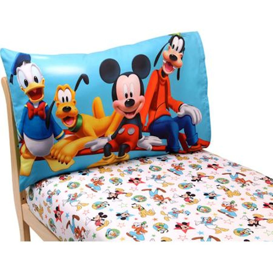 Disney Bedding Sets  Disney Mickey Mouse Clubhouse Toddler Sheet Set