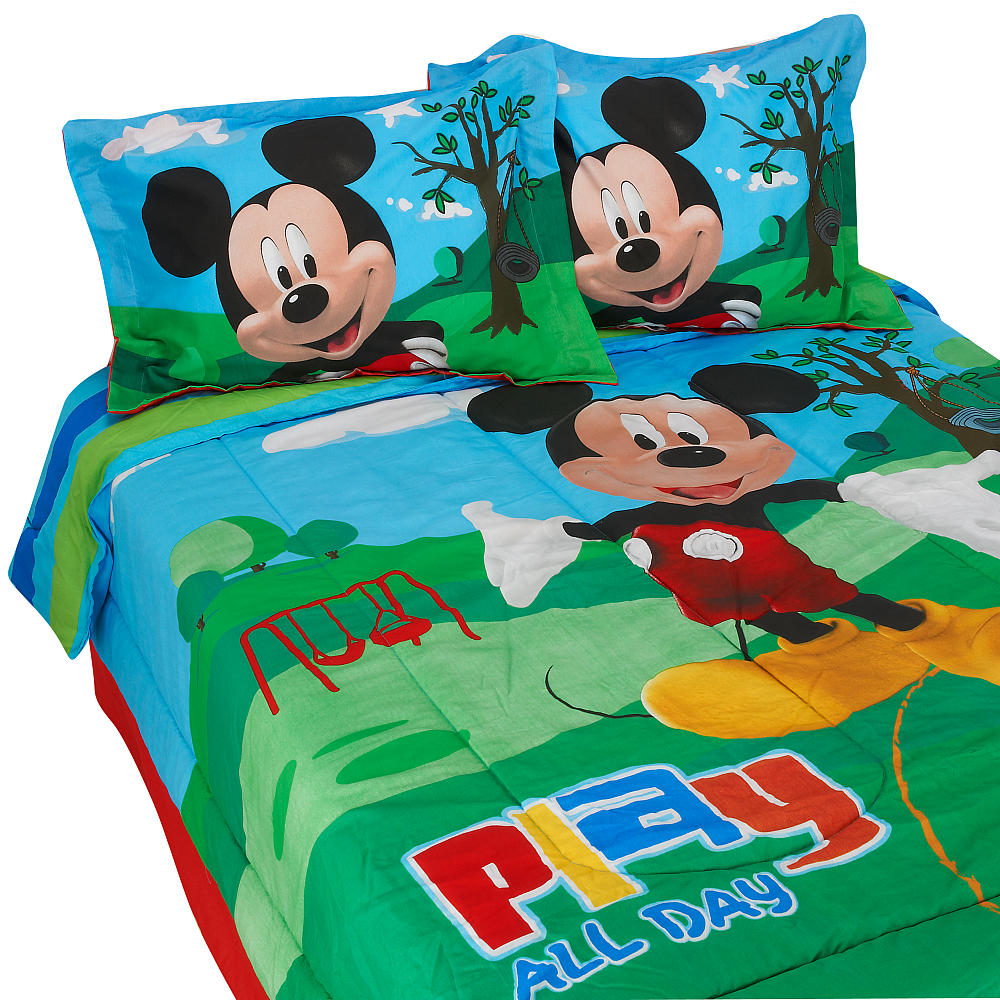 Disney Mickey Mouse Clubhouse Full Comforter Set