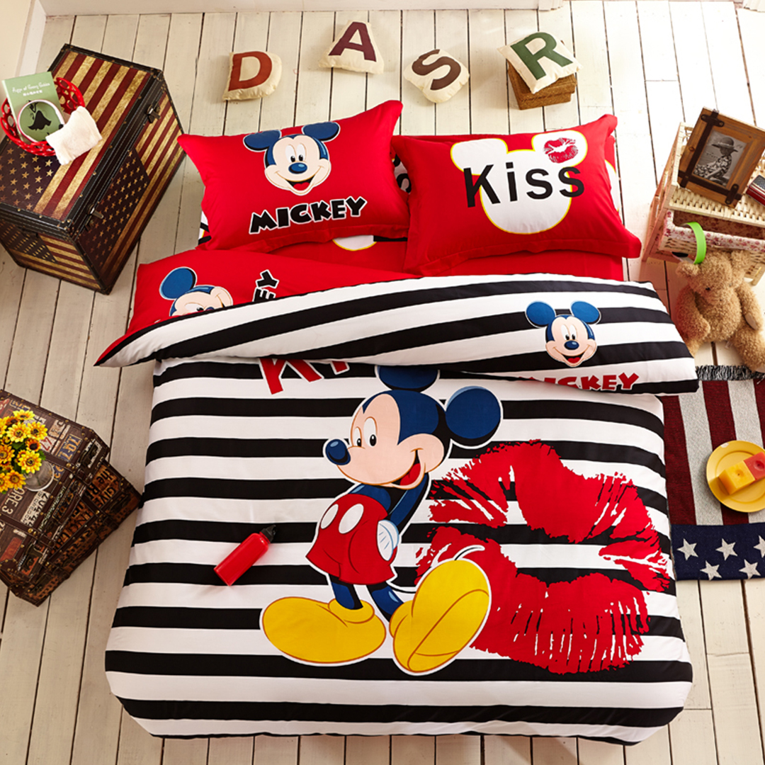 Elegant Classic But Fantastic Mickey Mouse Bedroom Decor All About
