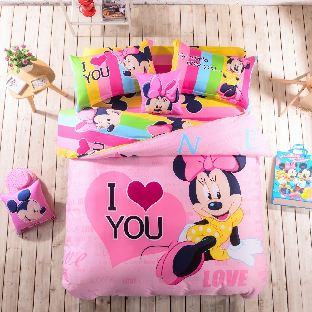 Elegant Mickey And Minnie Bedroom Set Carldrogo Also Minnie Mouse