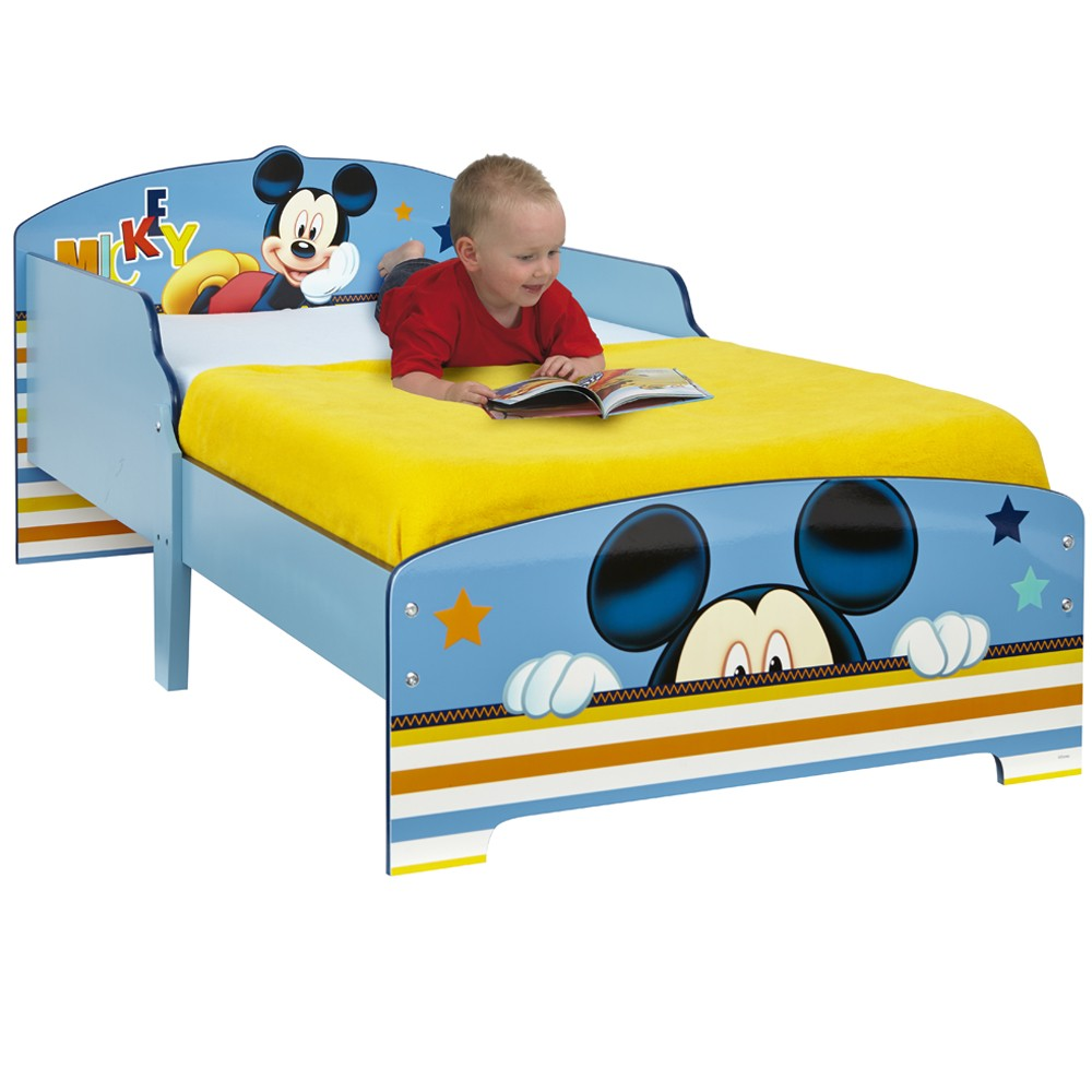 Exclusive Mickey Mouse Toddler Bed — Cute Toddler Bedding