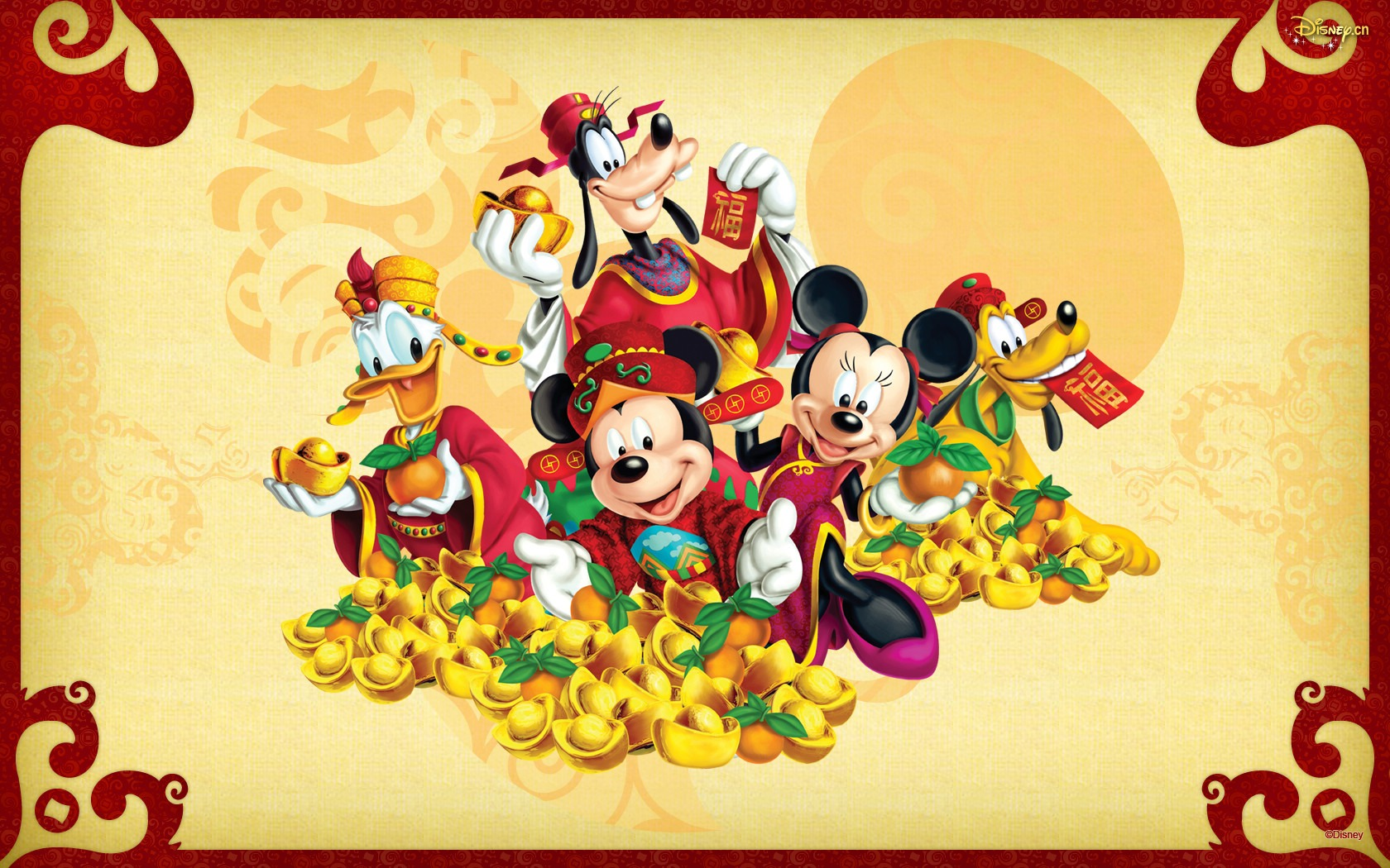 Fall Mickey Mouse Wallpaper