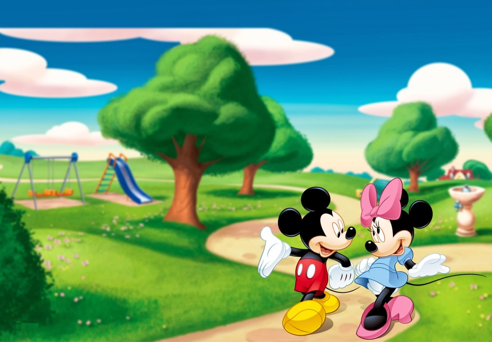 Hot Girl Wallpaper  Beautiful Disney Cartoon Minnie Mouse & Mickey