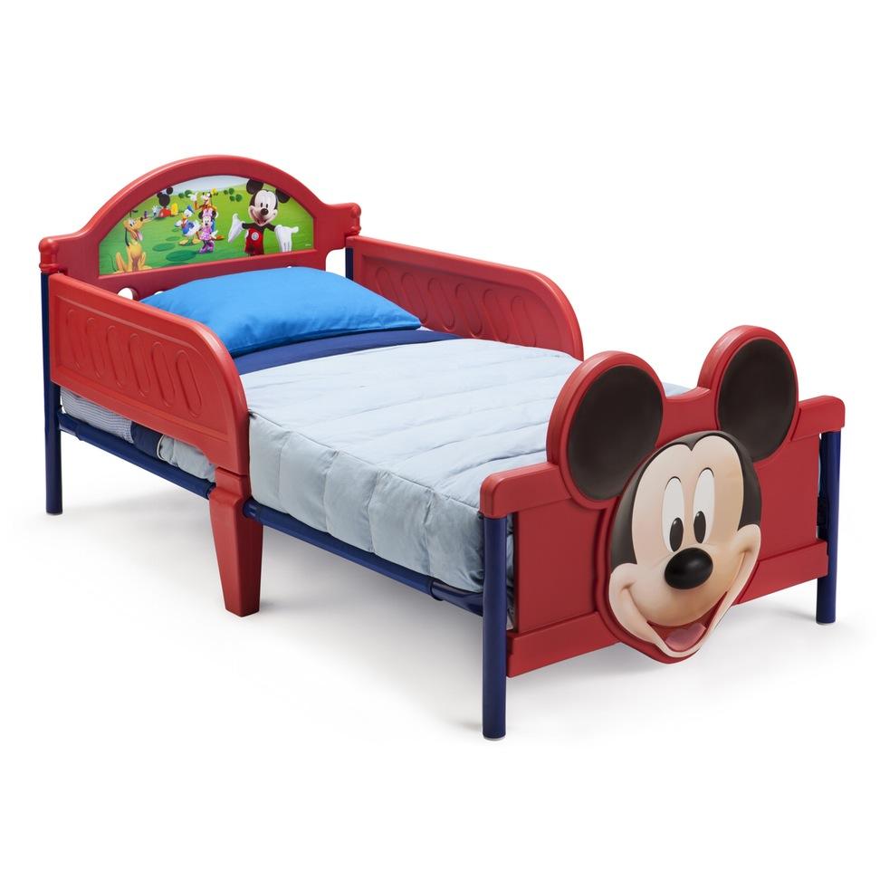 Kids Beds Wayfair Disney Mickey Mouse 3d Convertible Toddler Bed