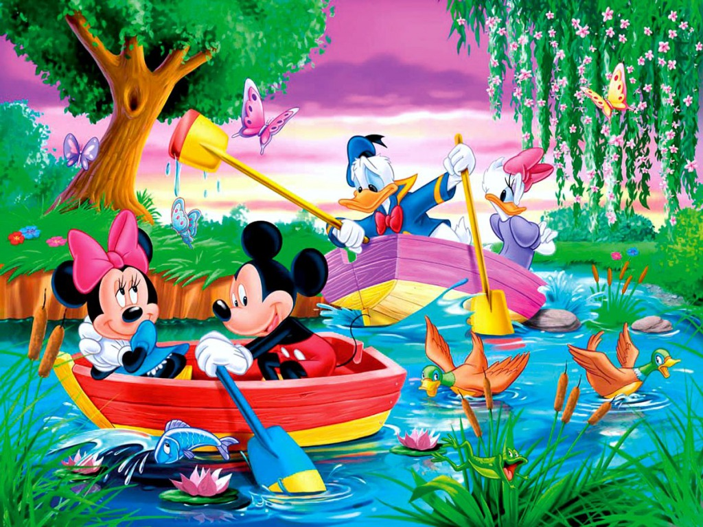 Mickey Mouse And Friends Wallpaper Hd