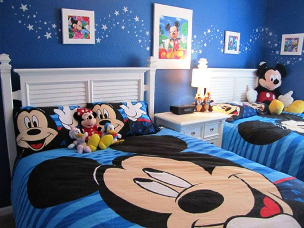 Mickey Mouse Bedroom Ideas For Kids