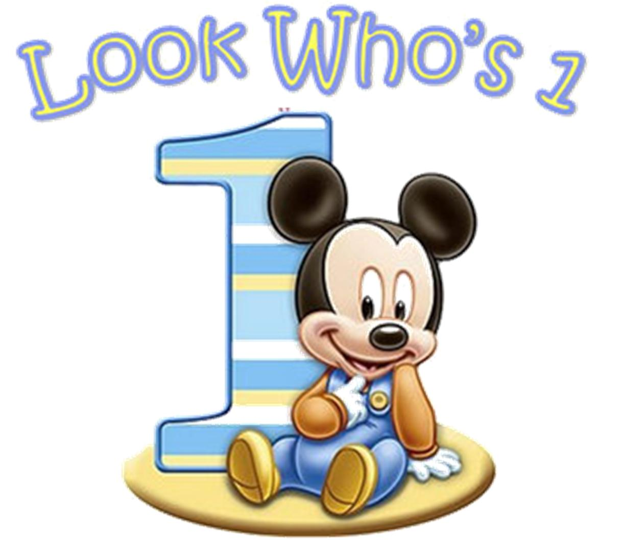Mickey Mouse Birthday Wallpaper