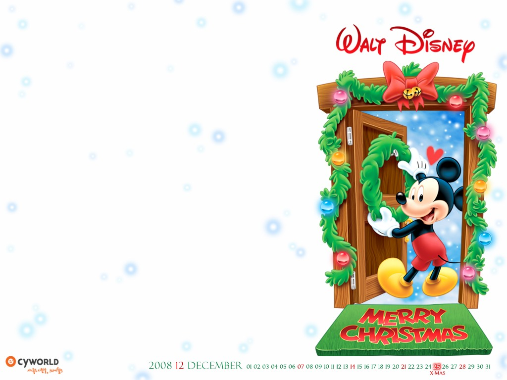 Mickey Mouse Christmas Backgrounds