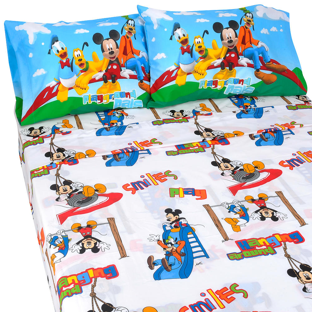 Mickey Mouse Clubhouse Twin Bed Sheets