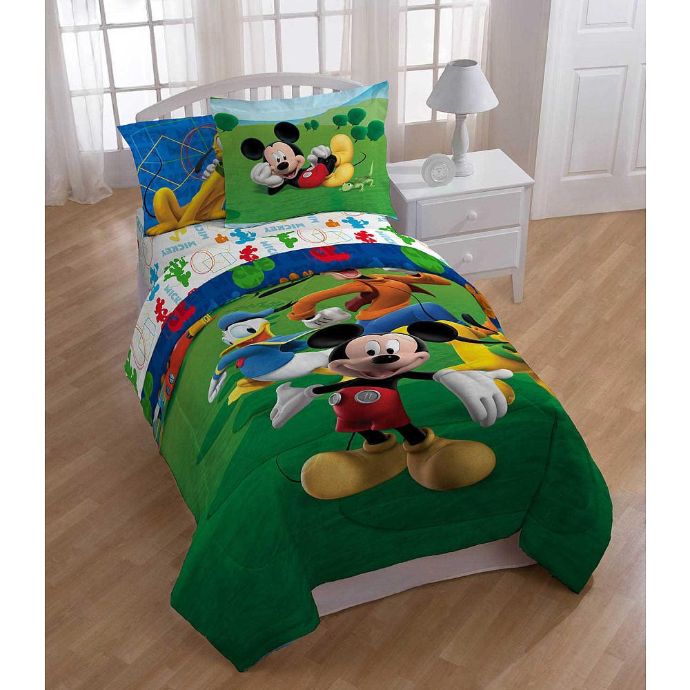 Mickey Mouse Clubhouse Twin Bedding