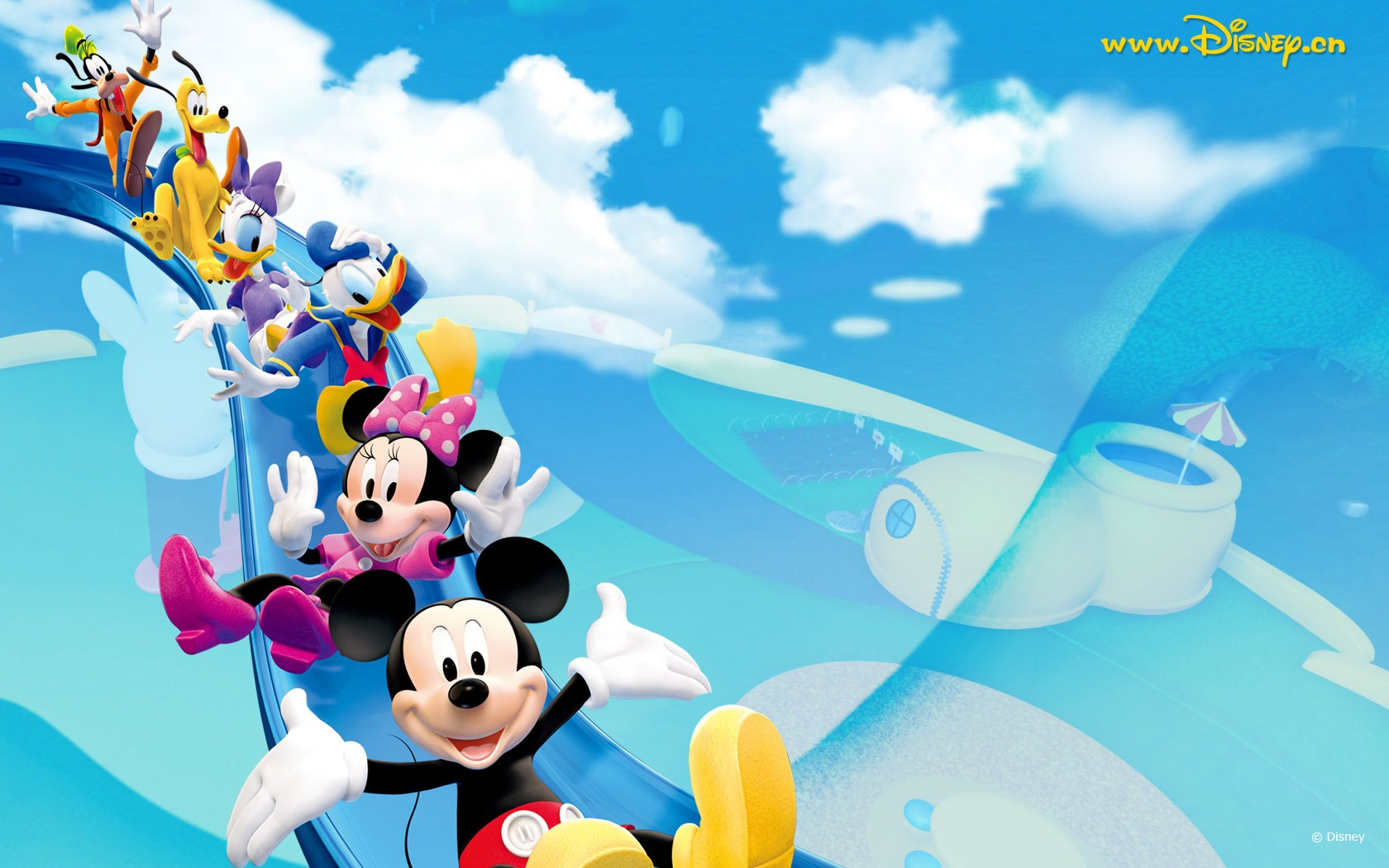 Mickey Mouse Clubhouse Wallpaper