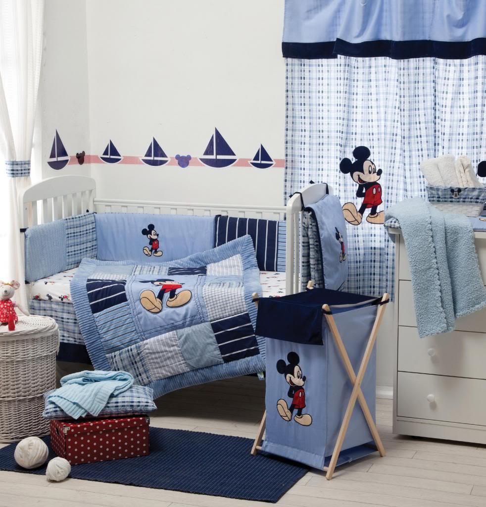Mickey Mouse Crib Bedding