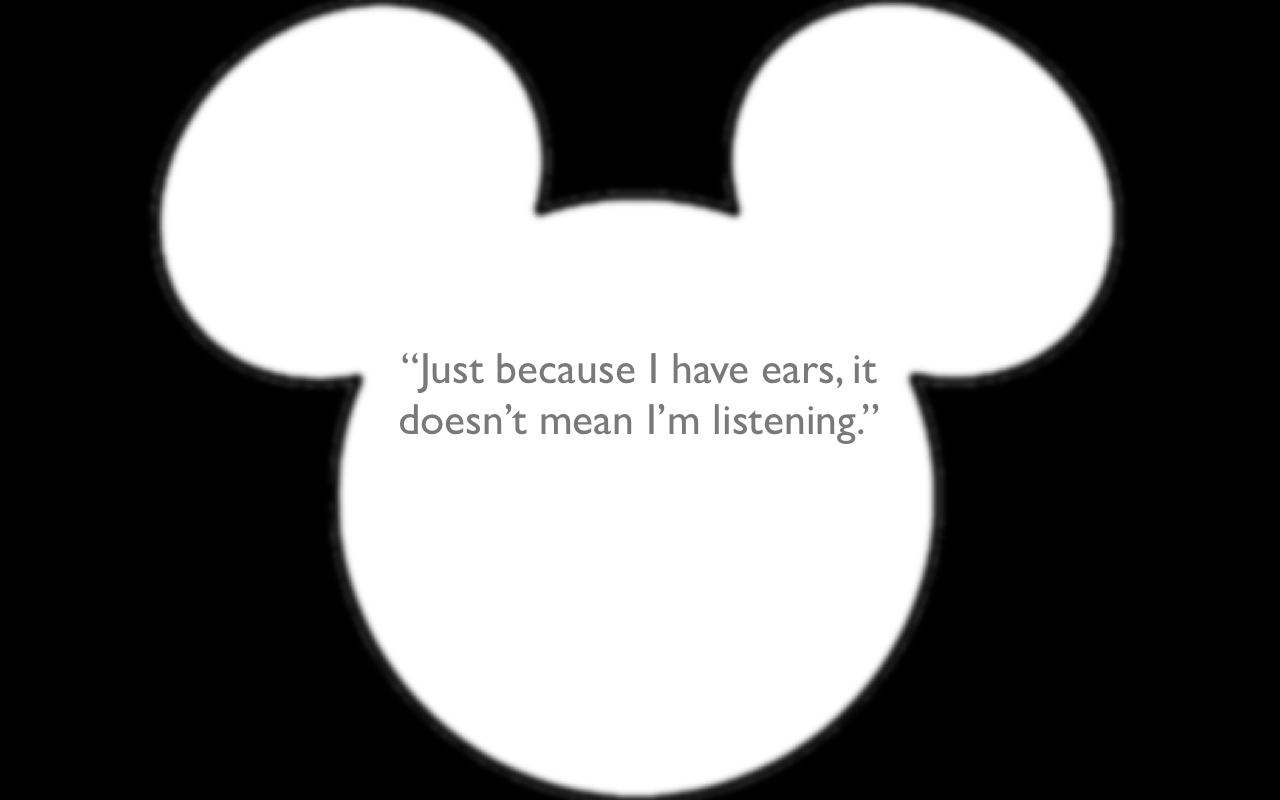 ... Mickey Mouse Ears Silhouette ...