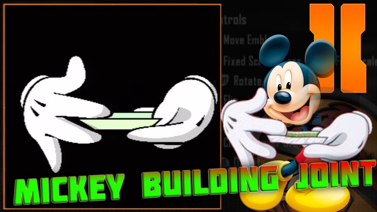 Mickey Mouse Hands Wallpaper