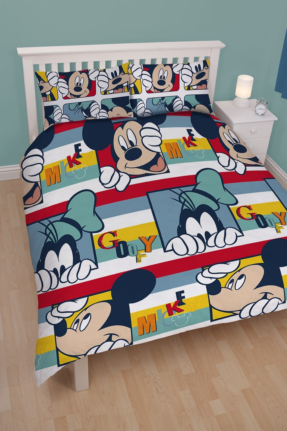 Mickey Mouse Toddler Bedding