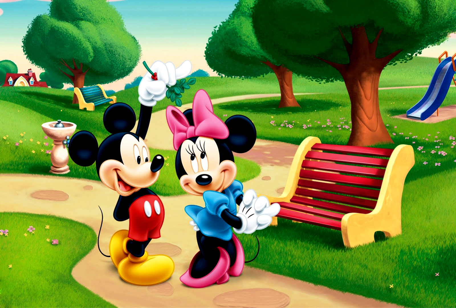 Mickey Mouse Wallpaper Download - Mickey Mouse Invitations Templates