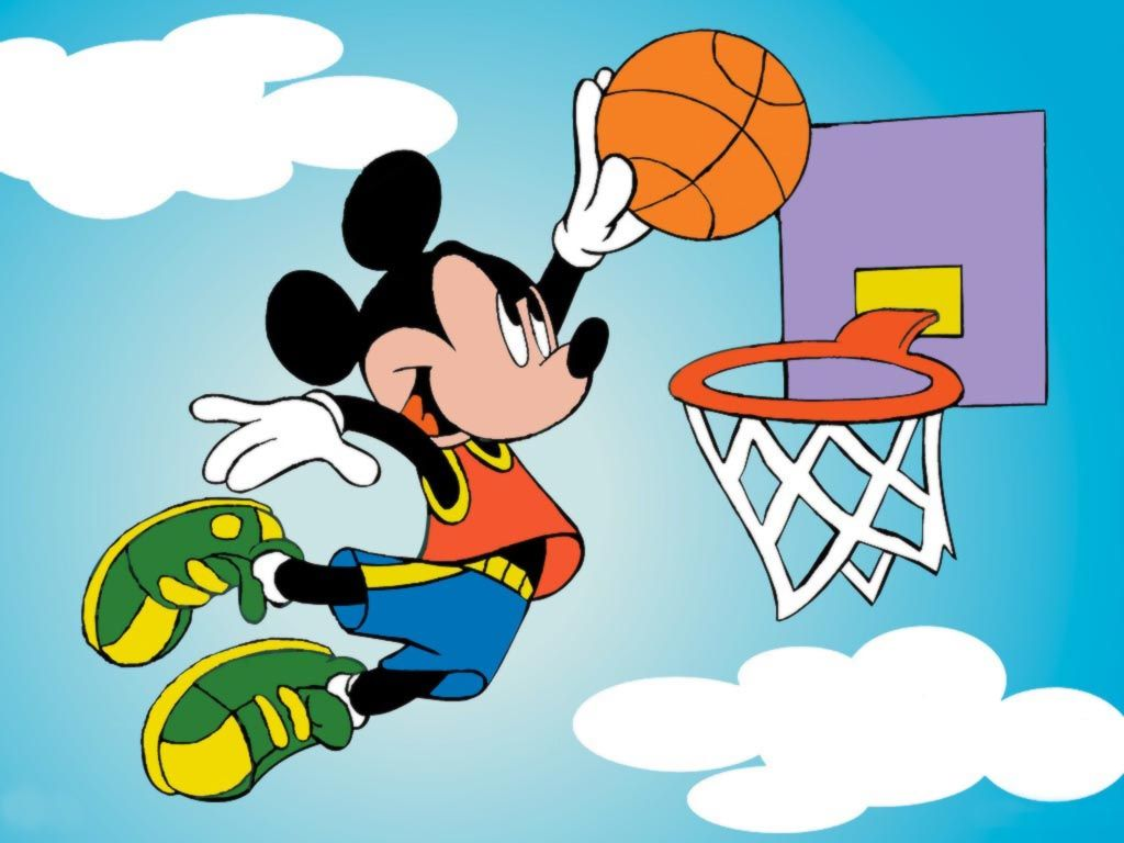 Mickey Mouse Wallpapers » Blog Archive » Mickey Mouse Basketball