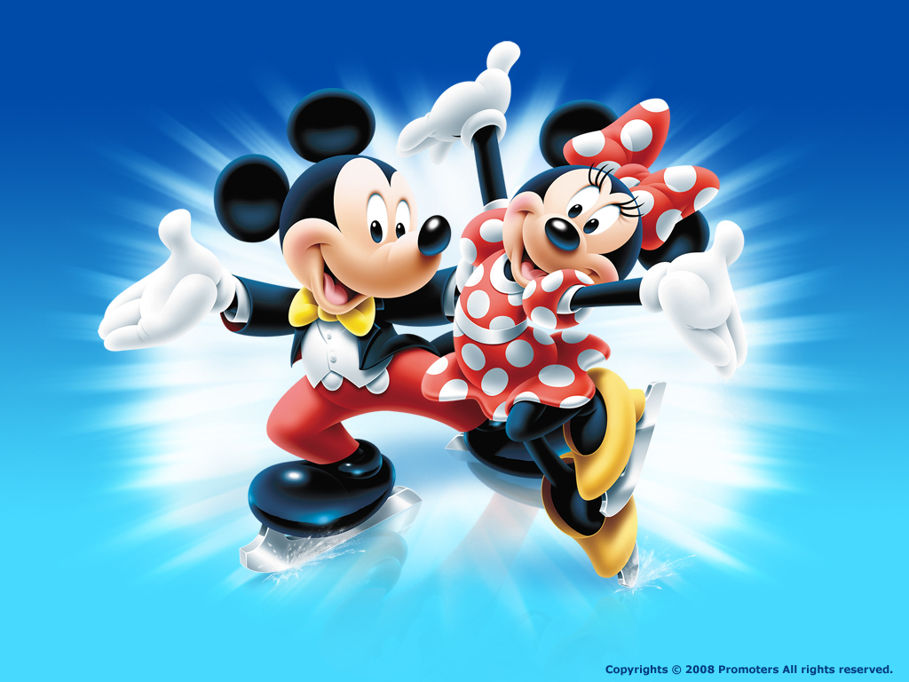 Mickey N Minnie Wallpaper