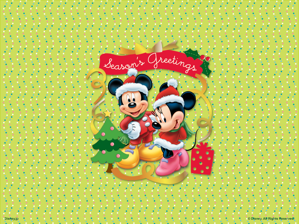 Minnie Mouse Christmas Wallpaper