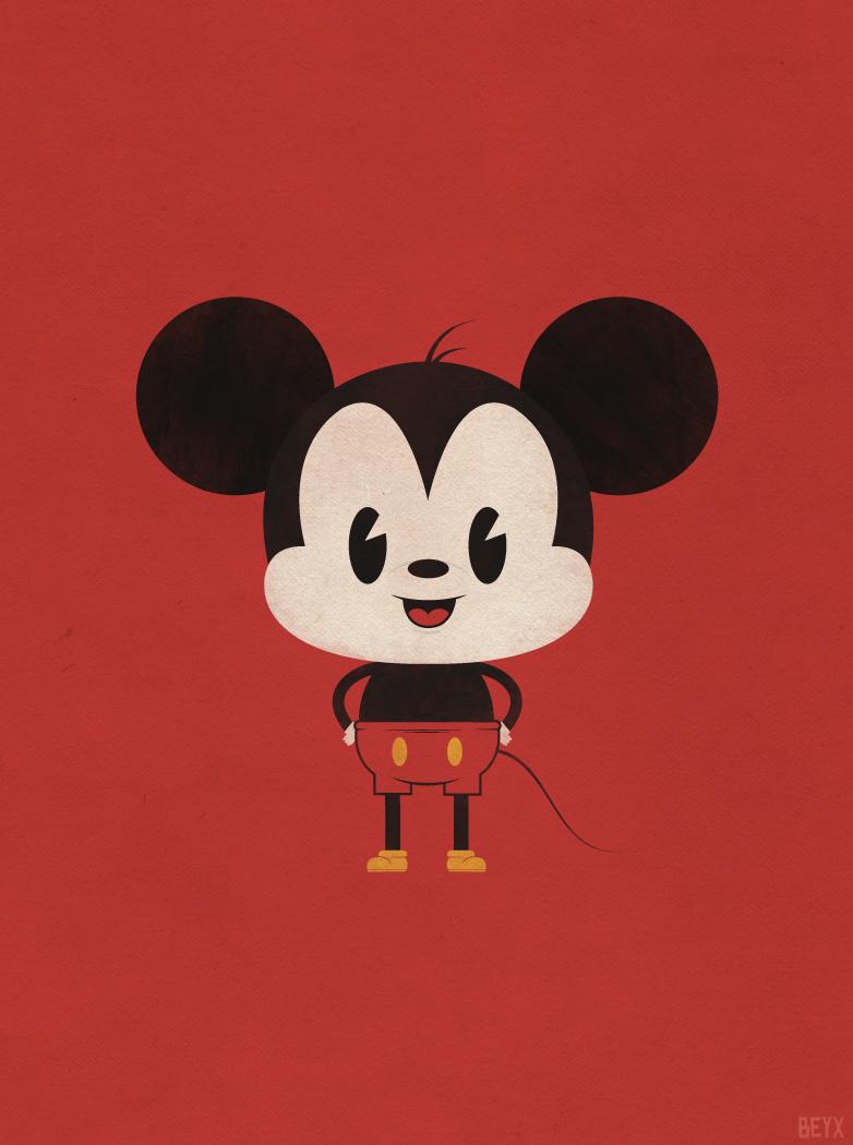 Mitomania Dc  Mickey Mouse Baby Family Wallpaper Wallpaperlepi