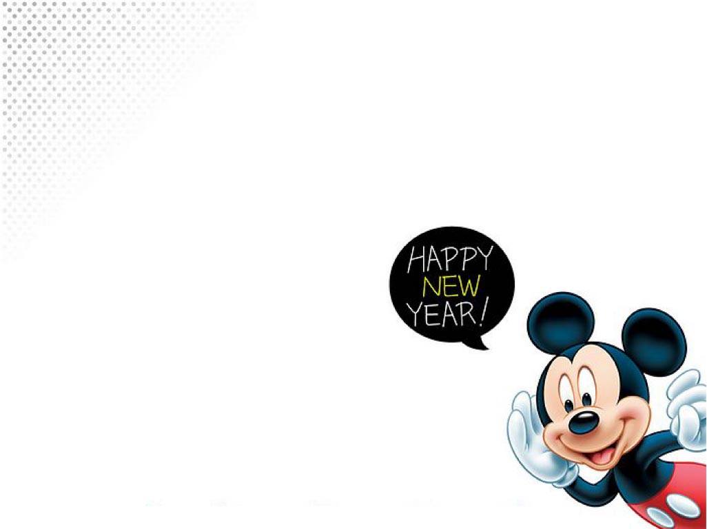 Pics Photos Mickey Mouse Happy New Year Wallpaper 126 Color Online