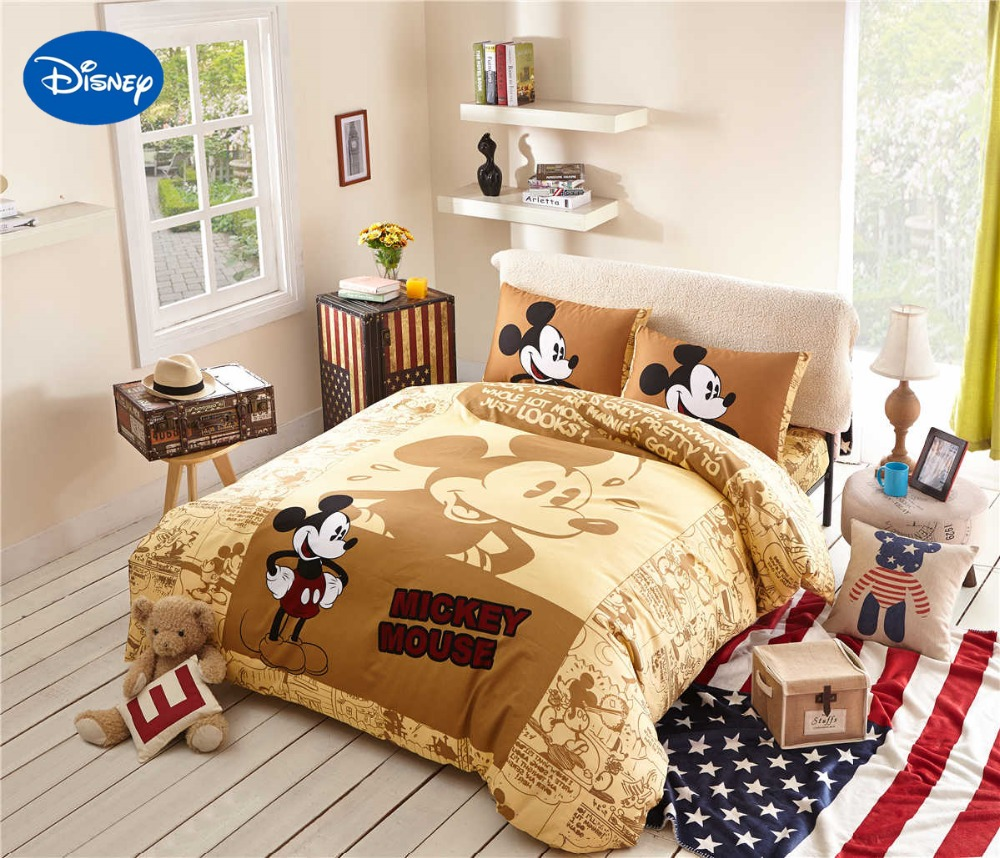 Popular Mickey Mouse Comforter Sets
