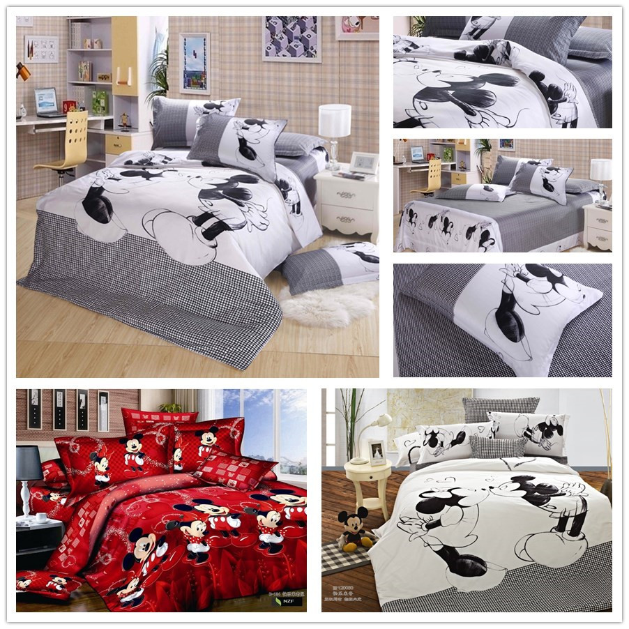 Popular Mickey Mouse King Size Bedding