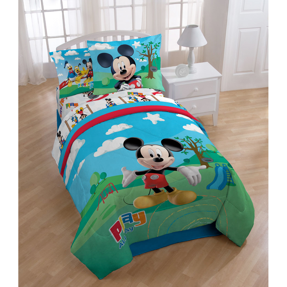 Popularity Mickey Mouse Bedding Toddler — Cute Toddler Bedding