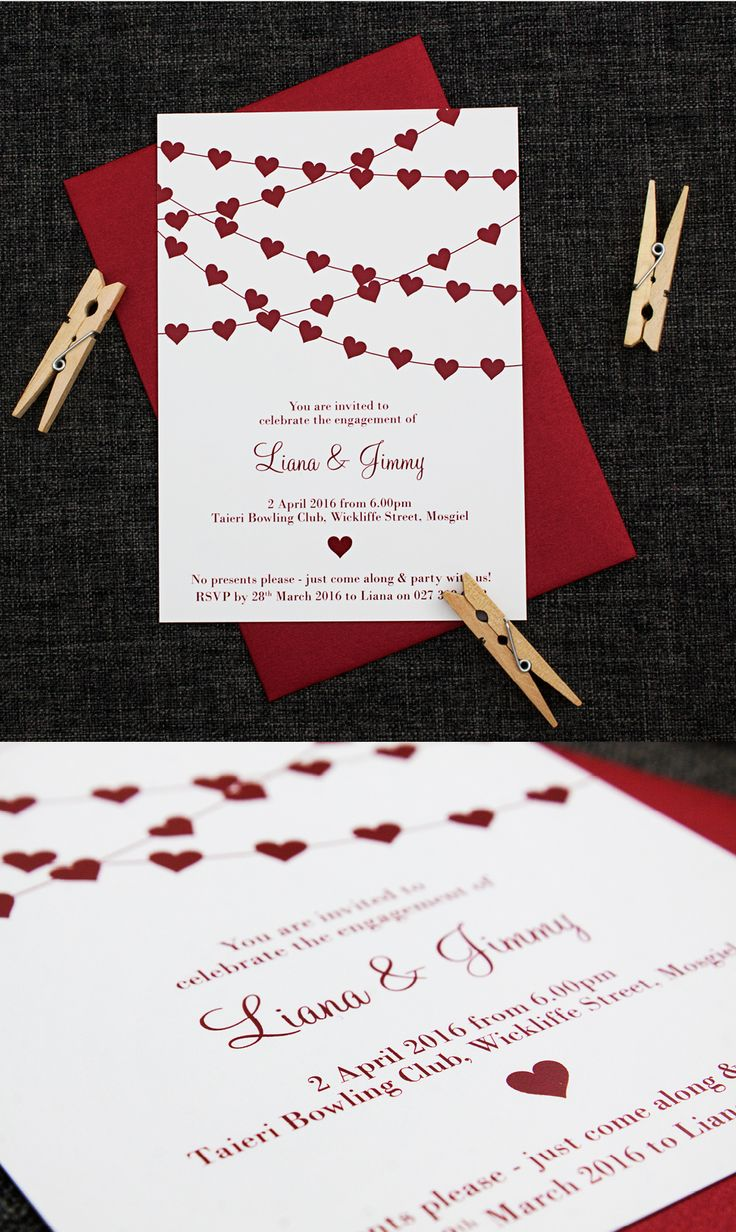 1000+ Ideas About Engagement Party Invitations On Pinterest