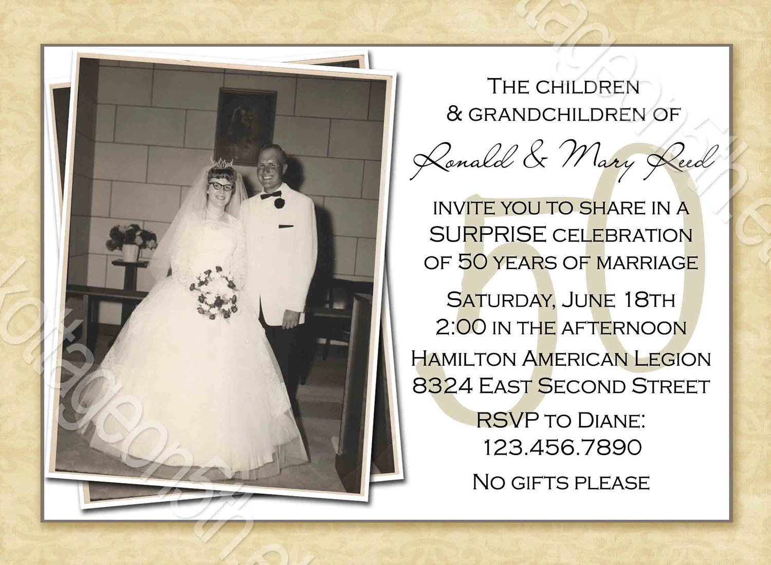 1000+ Images About 50th Wedding Anniversary On Pinterest