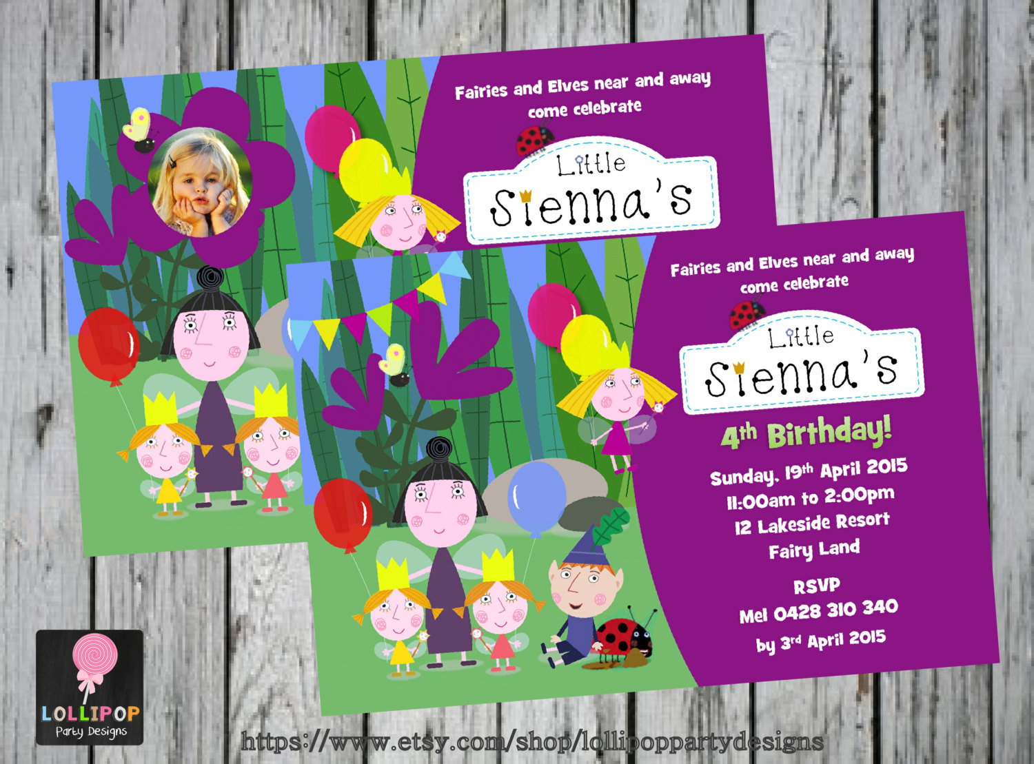 Ben And Holly Party Invitations - Mickey Mouse Invitations Templates