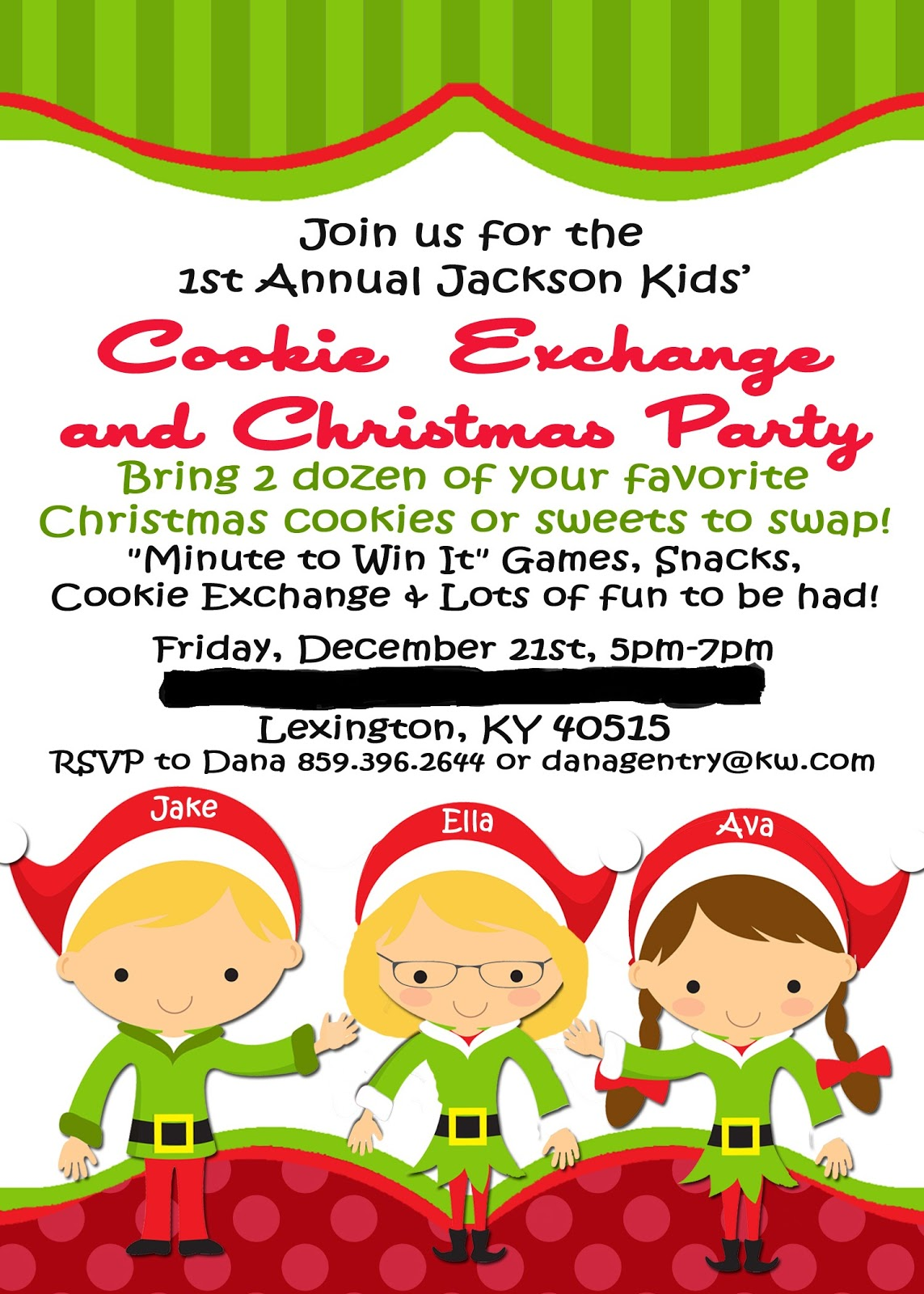Cookie Exchange Party Invitation Wording - Mickey Mouse ...