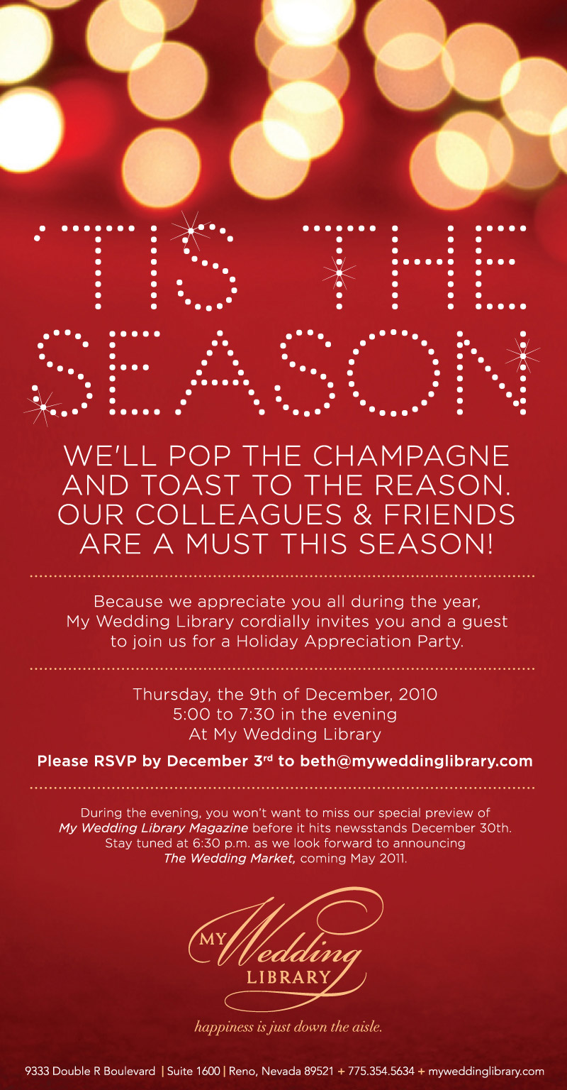 Business Christmas Party Invitations - Mickey Mouse Invitations ...